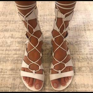 SCHUTZ Erlina Lace Up Gladiator Sandal